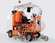 Machine de marquage réfléchissant - Largeur de marquage : de 10 à 30 cm - Moteur à démarrage électrique