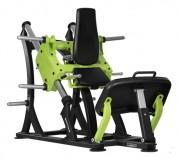 Machine de musculation pour exercices des jambes - Plateforme soutien pieds en aluminium antidérapant