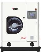 Machine de nettoyage à sec professionnelle - Capacité (Kg) : 10 - 12 - 14 - 16 - Bipot disponible en pompe électrique ou pompe pneumatique