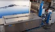 Machine de nettoyage pour cylindres d'impressions - Température : 80° - détergent : 5%