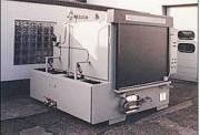 Machine de nettoyage pour fûts - Machine rotative sous pression