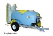 Machine de pulvérisation - Diffusion homogène sur hauteur végétative