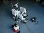 Machine de traçage routier multi motorisation - Changement de motorisation en moins d'une minute