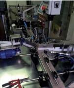 Machine étiqueteuse linéaire automatique - Poste d'étiquetage réglable en hauteur