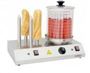 Machine hot dog 4 plots - Hot dog machine professionnel