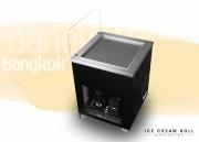 Machine ice cream roll - Dimensions (L x l x h) : 65 x 65 x 88 cm