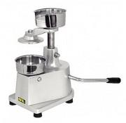 Machine manuelle à steacks hachés - Dimensions (L x P x H) mm : 280 x 280 x 270