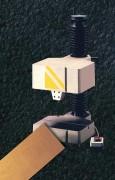 Machine marquage numérique par micro points ou rayage - Hauteurs courantes de caractères depuis 0,5 mm