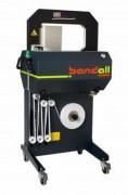 Machine mise sous bande à ligne automatique - Largeurs des bandes : 28, 48, 75 et 100 mm.