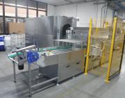 Machine nettoyage lessivielle sous vide en panier - Machine sous vide de 1 à 4 bains
