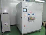 Machine nettoyage par ultrasons monocuve - Capacité : 5 charges de 20 kg par heure