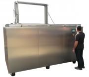 Machine nettoyage ultrasons programmable - Contenance réservoir principal : 4770 litres