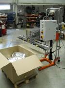 Machine pneumatique pour soudure sac - Soudage de sacs sur palette ou caisse-palette