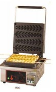 Machine pour gaufre en épis - Livrés avec un pinceau et une fourchette spéciale