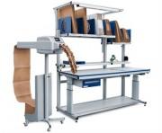 Machine pour papier froissé Track - Cadence : 40 Mètres/minute
