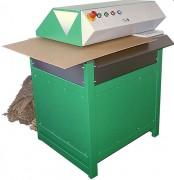 Machine pour recyclage de carton