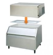 Machines à glaçons cubes modulaires - Production (kg/24h) :  140 - 290 / Bacs de stockage (kg) : 100 - 150 - 250