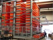 Magasin automatique vertical grandes longueurs - Longueurs variables : 3 à 12 m