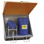 Magasin de stockage à caillebotis en acier - Magasin de stockage avec capacité 200L