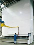 Magasin de stockage pour entrepôt - Dimensions des plateaux (L x l) : 6.600 x 600 mm