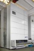 Magasin de stockage vertical - Capacité de charge : jusqu'à 70.000 Kg bruts / 750 Kg nets