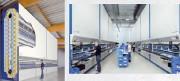 Magasin pour stockage rotatif - C'est la marchandise qui se déplace vers l'opérateur et non l'inverse.