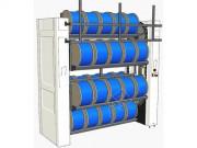 Magasin vertical pour tourets - Chargement et déchargement manuel