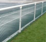 Main courante compatible habillage pour terrain sportif - Diamètre : 60 mm - Hauteur : 1.50 m