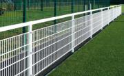 Main-courante pour stade - Aluminium ou acier - treillis soudés - Ø 60 mm