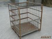Maintenance de conteneurs grillagés - Traitement et réparation de vos caisses de manutention et de stockage