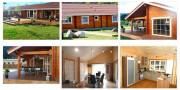 Maison bois massif - Surface : 140 m² - Double madriers