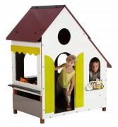Maisonnette en bois pour enfants - Fixation longue