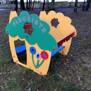 Maisonnette fleuriste jeux pour enfant - Fabriquée en HPL