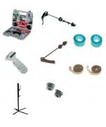 Malette de réparation vélo - Contient 18 outils pour les roues et fond de jante
