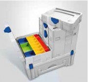 Malette plastique compartimentée - Dimensions extérieures (L x l x H) mm : De 268 x 171 x 70 à 596 x 396 x 210