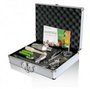 Mallette pour barman - 15 outils - Dimensions (L x l x H) cm : 40 x 30,5 x 9,8