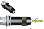 Mandrin de perçage monobloc - Attachment cône HSK