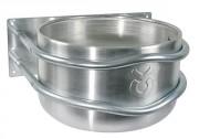 Mangeoire ronde en aluminium - Capacité ~ 18 litres