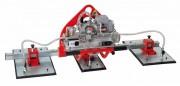 Manipulateur à ventouse électrique pour bois - En deux configurations électriques :pour panneaux non poreux - pour panneaux poreux