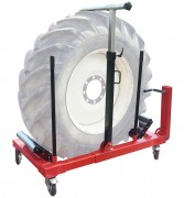Manipulateur de roues - 3 renforts pour retenir les roues - Charge maximun: 500 Kg