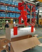Manipulateur industriel chimique pour bobines - Chimie