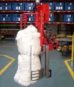Manipulateur industriel pour balles - Textile