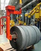 Manipulateur industriel pour bobines et caisses - Emballage