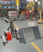 Manipulateur industriel pour conteneur - Chimie