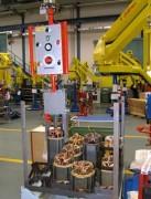 Manipulateur industriel pour moteurs electriques - Electromécanique