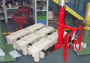 Manipulateur industriel pour moules de fusion - Fonderie