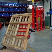Manipulateur industriel pour palettes - Emballage