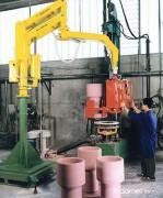 Manipulateur industriel pour produits en beton
