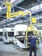 Manipulateur industriel pour véhicules industriels - Auto- véhicule industriels