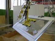 Manipulateur panneaux en verre